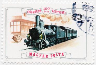 100 years old Gyor Sopron Railway Line
