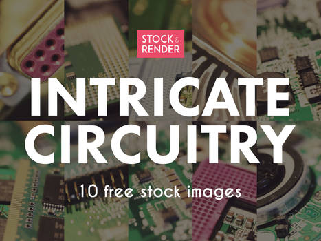 Intricate Circuitry: 10 Free Stock Images