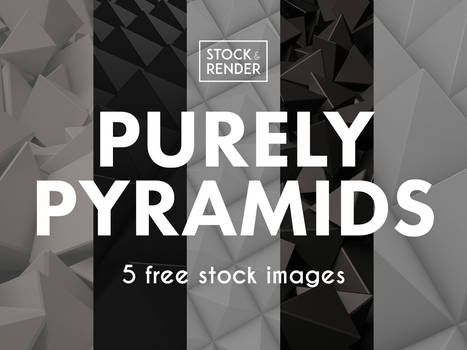 Purely Pyramids: 5 Free Stock Images