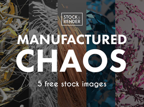 Manufactured Chaos: 5 Free Stock Images