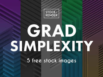 Grad Simplexity: 5 Free Stock Images by Matt-Mills