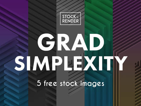 Grad Simplexity: 5 Free Stock Images