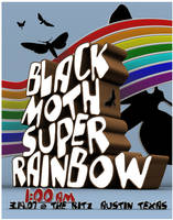 black moth super rainbow by Matt-Mills