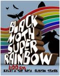 black moth super rainbow by mattmillsart