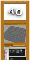 maya-mental ray a.o. tutorial