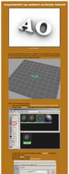 maya-mental ray a.o. tutorial by Matt-Mills