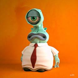 Mr. Eyesly by Matt-Mills