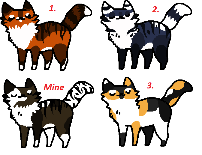 Cat adoptables :OPEN: by finchfluff