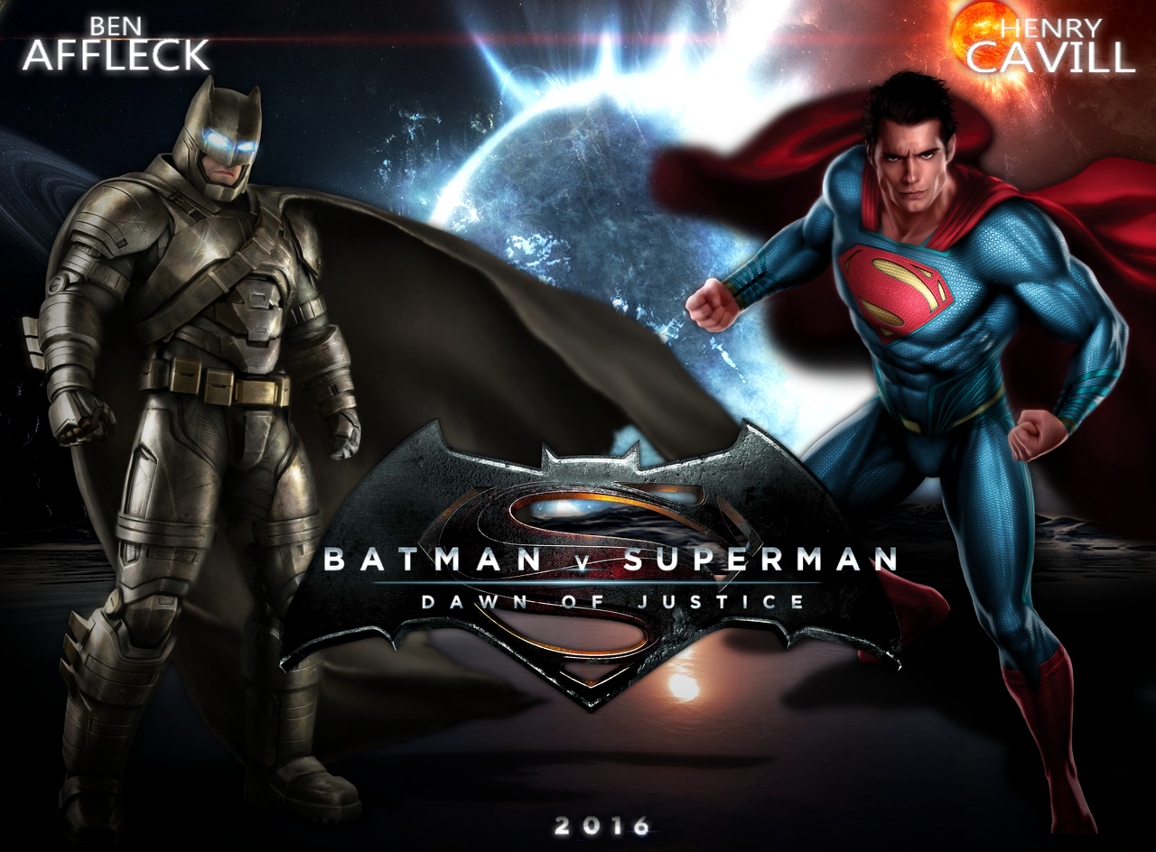 Superman Fanmade Wallpaper By JosephCAW Batman V