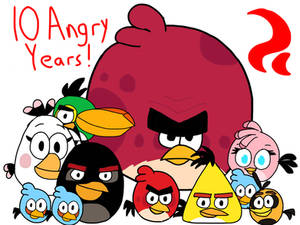 Angry Birds (10th Anniversary)