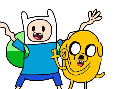 Adventure Time (10th Anniversary Pic)