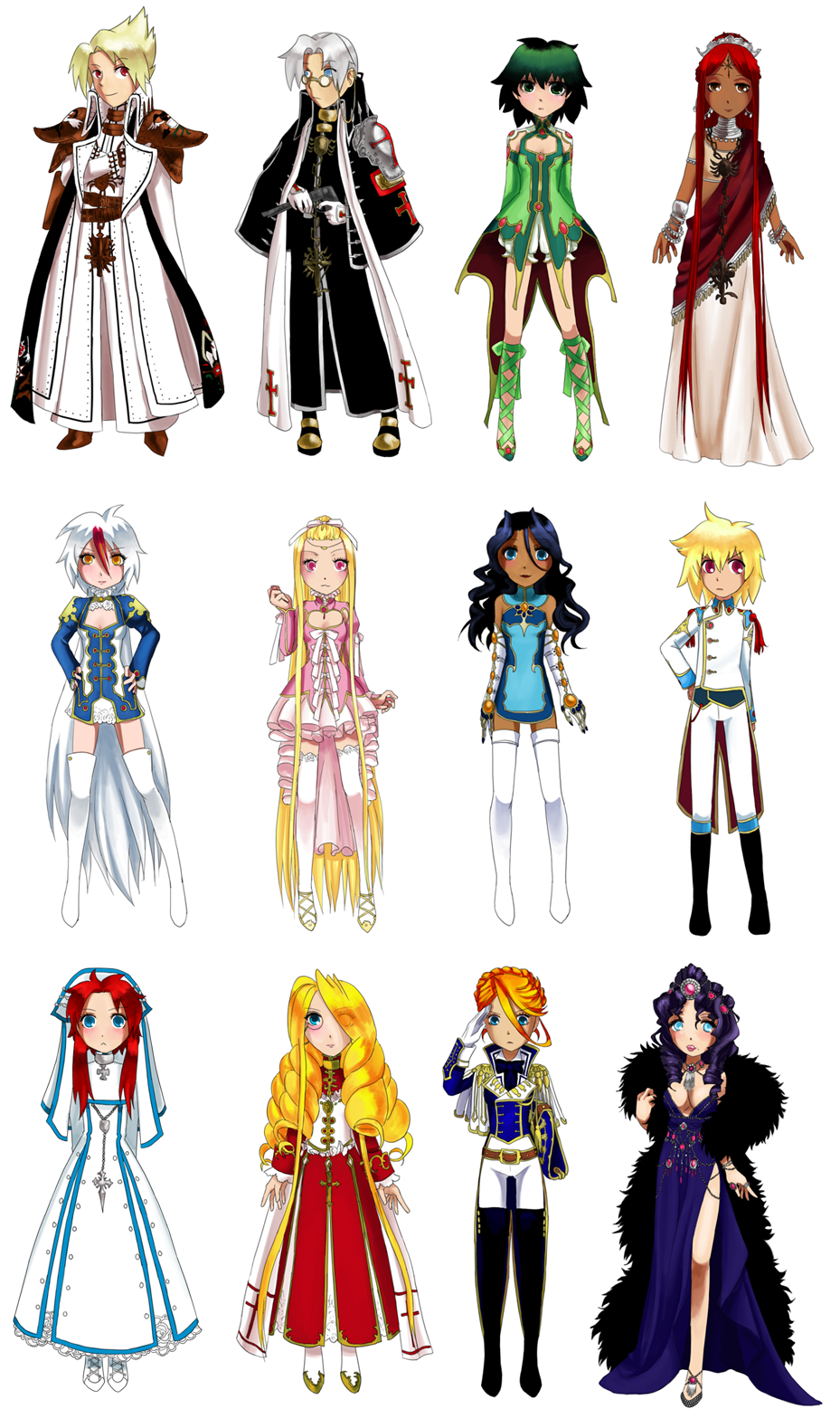 Blood C Anime Characters Wiki : Trinity blood by hapuriainen on deviantart