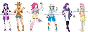 Pony Pokegirls
