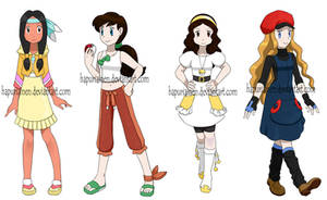 Pokemon princesses 5 by Hapuriainen