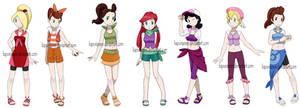 Pokemon Princesses 6 - Daughters of Triton edition by Hapuriainen
