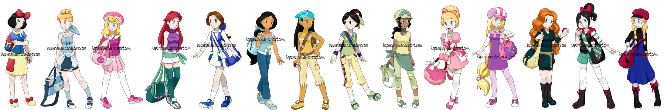 Pokemon Princesses 8 By Hapuriainen On DeviantArt