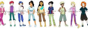 Pokemon Princesses Genderbend