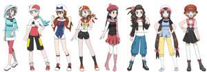 Pokegirls alt outfits