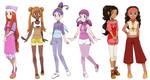 Pokemon Princesses 11 by Hapuriainen