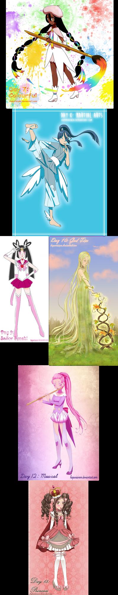 Magical Girl Challenge 2/3 by Hapuriainen