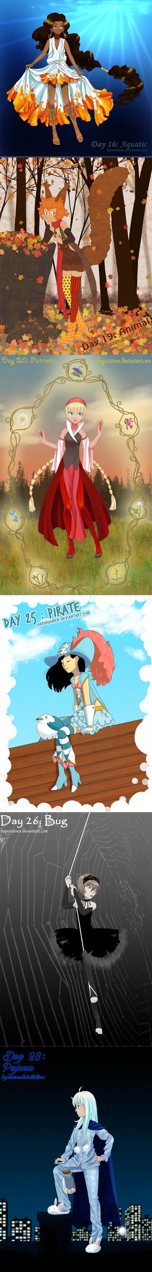 Magical Girl Challenge 3/3 by Hapuriainen