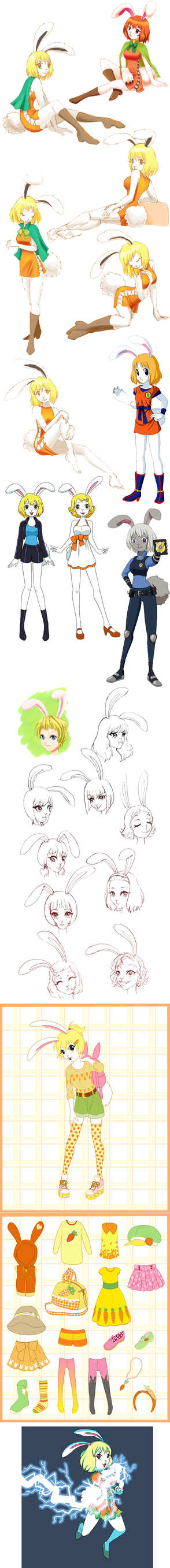 Carrot art dump by Hapuriainen