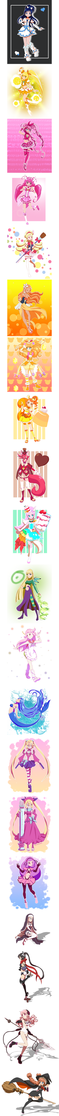 Magical girls 7 by Hapuriainen