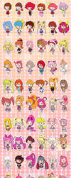 50 Years of Magical Girls by Hapuriainen