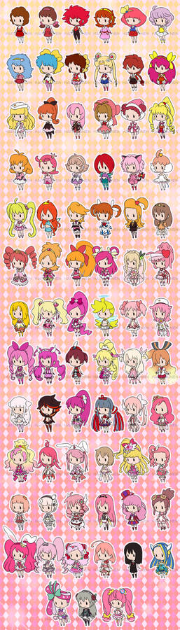 50 Years of Magical Girls