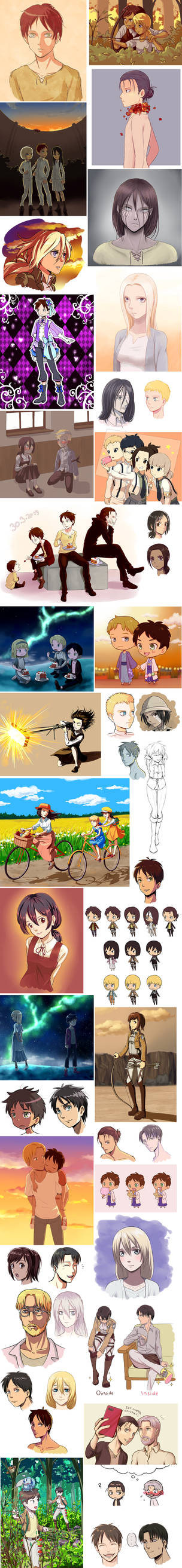Attack on titan dump 8