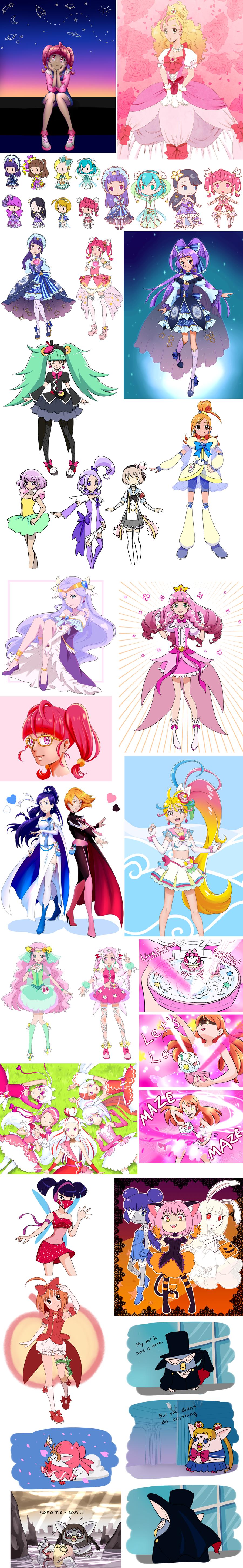 Magical Girl Art Dump 6