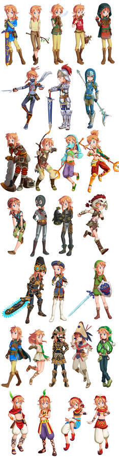 Link's outfits