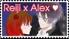Reiji X Alex stamp by cpt-swan