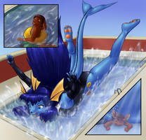 swimming lessons by AlloyRabbit