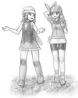 blergh i cannot draw pokemon trainers by AlloyRabbit
