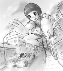 escaping Mako's reach