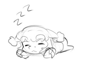 Sleepbunpon by AlloyRabbit
