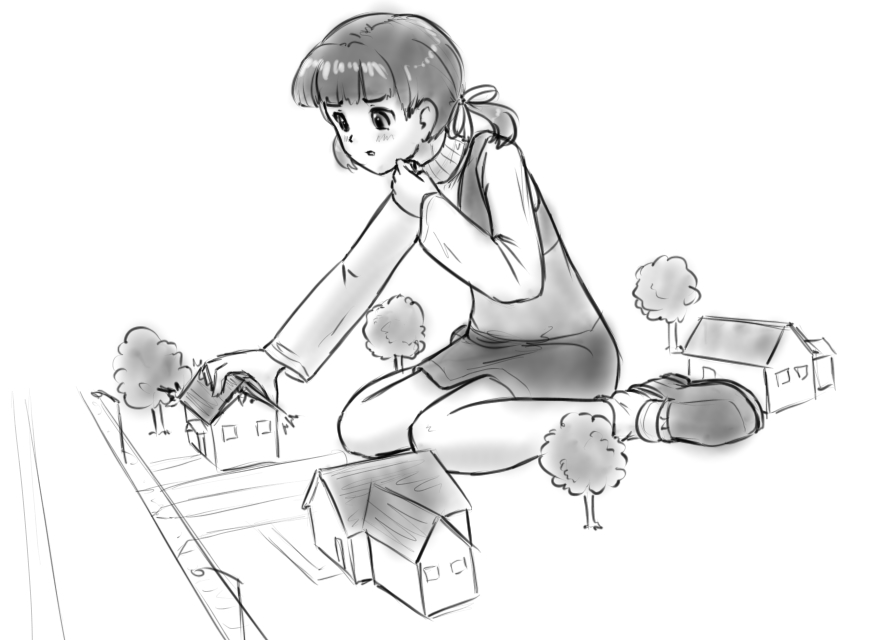 Nanako scribble by AlloyRabbit