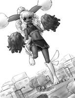 downtown cheer by AlloyRabbit