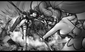 Attack On Couturier by AlloyRabbit