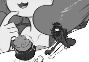 Hex Miniac wants to fight by AlloyRabbit