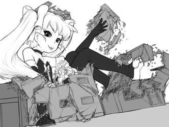 Matilda's growsplosion by AlloyRabbit