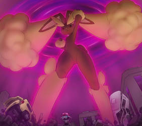 Dynamax Lopunny by AlloyRabbit