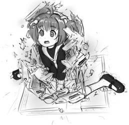Sakura is too big (maryjanes version)
