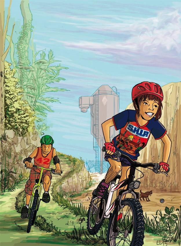 Mountain Biking by Emilie-la-vraie