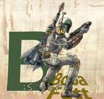B for Boba Fett