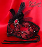 Sanguine Venetian Mask