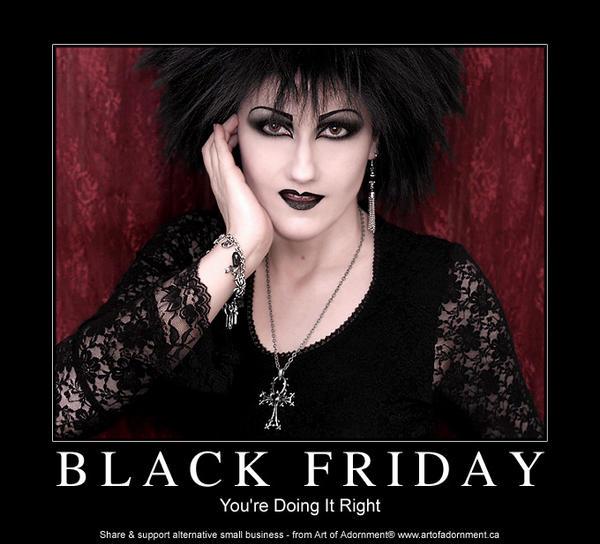 Black Friday - Motivational by ArtOfAdornment