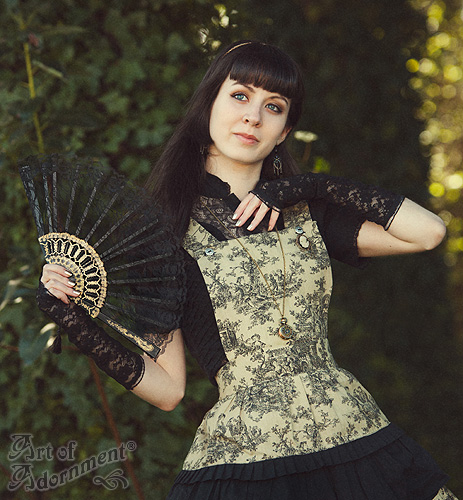 Sweet Gothic Lolita by ArtOfAdornment