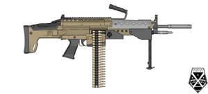 XCOM Light Machine Gun by killerdragon558